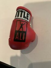 RARE limited edition  TITLE RED ALI  BOXING  GLOVE KEYCHAIN -NEW
