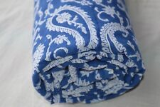 Indian Hand Made Block Print Fabric 100% Cotton Crafting Fabric 2.5 Yard