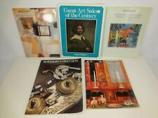 SOTHEBY'S Auction Catalogs Lot of 5