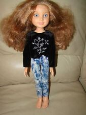 """2009 Best Friends Club 18"""" Blue Eyes Jointed at the  knees Poseable  Doll MGA"""