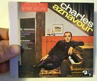 CHARLES AZNAVOUR (1963) ♦ Edition Limitée ♦ LA MAMMA