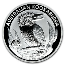 2012 Australia 1 oz Silver Kookaburra BU (Dragon Privy) - SKU #69797