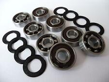 ...10x19x5mm ...*NEU* ZRO2-Zirkonoxid ** 1x Kugellager 61800-2RS//Full-Ceramic