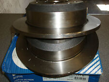Jaguar XJ 1986 - 1990 278mm  Bendix 561627B Solid Rear Brake Discs (Pair)