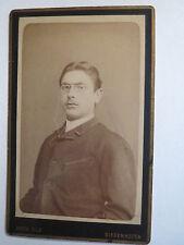 Diedenhofen - Mann mit Brille im Anzug - Portrait / CDV
