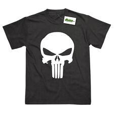Punisher Inspiré Superhéros Crâne Déguisement T-Shirt