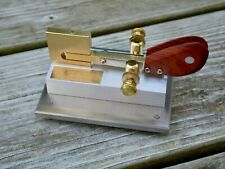 Cootie Morse Code Sideswiper QRP W1SFR with Station Base