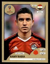 Panini World Cup 2018 (SWISS GOLD VERSION) Ramy Rabia (Egypt) No. 78