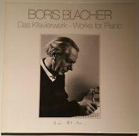 BORIS BLACHER Das Klavierwerk Piano Works Horst Göbel Thorofon Capella MTH 223