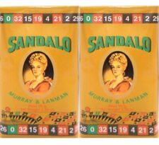 Sandalo Soap byMurray & Lanman.Pack Of 2.
