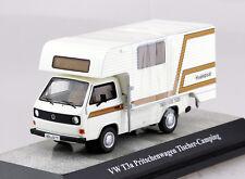 VW T3a Pritsche Tischer Camping Wohnwagen 1:43 Premium Classixxs Modellauto 528