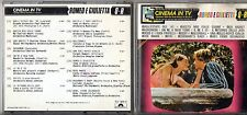 CINEMA IN TV CD 1992 PAUL MAURIAT MANTOVANI HENRY JOHNSON CHRIS CARPENTER ROTA