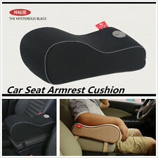 Luxury Car Center Console Armrest Pad Arm Rest Seat Box Protective Cushion Black