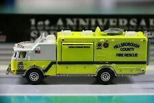 MATCHBOX REAL WORKING RIGS E-ONE MOBILE COMMAND VEHICLE-2010 LOOSE CAR NEW