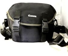 Canon Camera Photo case shoulder bag Black OEM Genuine T2i T6i 10X8X5""