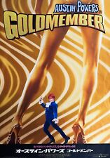 Austin Powers in Goldmember 2002 Japanese Chirashi Mini Movie Poster B5