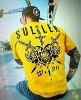 Sullen Art Collective 3 Swords Gold Premium Mens T-Shirt MMA UFC Tattoo Clothing