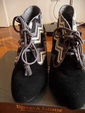 Django & Juliette Women's Ankle Boot sz 37 RRP $180.00