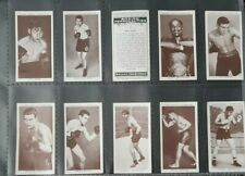 CIGARETTE CARDS -  CHURCHMANS - FULL SET - 1938 - BOXING PERSONALITIES - *VG*