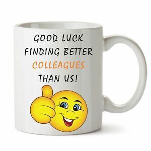 Leaving Gifts Ideas Funny Retirement Gift Mugs for Work Boss Good Luck