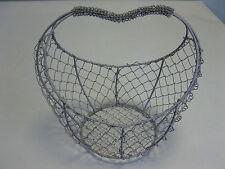 Metallkörbchen Dekokorb  Eisenkorb   Obstkorb    21cm