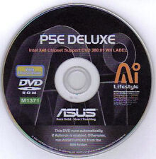 ASUS P5E DELUXE Motherboard Drivers Installation Disk M1371