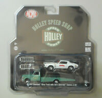 Holley 1967 Chevy Ramp Truck 1971 Camaro ACME GREENLIGHT DIECAST 1:64