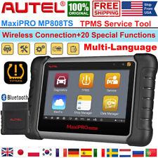 Autel MP808TS Bluetooth OBD2 Auto Diagnostic Scanner TPMS Programming Key Coding