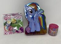 Hasbro My Little Pony Accessories Bundle Badges Tin Fashems Toys Cutie Fun Play