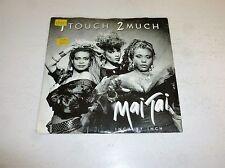 "Mai Tai - 1 Touch 2 mucho - 1987 holandés 7"" Juke Box SINGLE VINILO"
