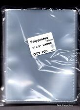 More details for stockcard postcard photograph clear polyprotec wallets sleeves 180 x 130mm  ♺