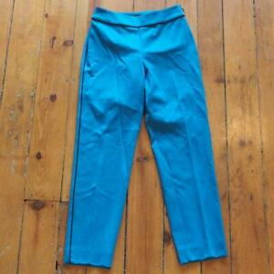 St. John Size 0 Blue Lounge Pants