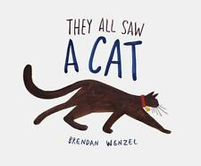 They All Saw A Cat [Cat Books for Kids, Beginning Reading Books, Preschool Prep