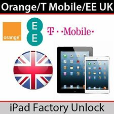 iphone 4, 4s, 5, 5C, 5S, 6, 6+ Desbloqueo EE/Orange/T-Mobile GB Servicio