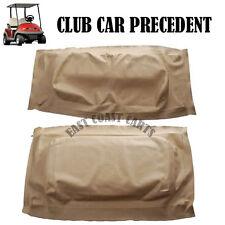 Club Car Precedent 2004-Newer golf cart BUFF/BEIGE Seat Cover Set