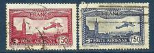 France 1930   Poste aérienne n° 5 et 6 oblitéré