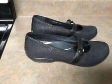 Dansko Orla Women's Black Mary Jane Flat Shoes Size 40 (CON21)