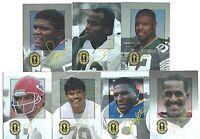 1993 Playoff Club 7 Card Set Joe Montana, Lawrence Taylor, Reggie White, Munoz +
