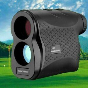 600m 6X Laser Rangefinder Golf Jagd Entfernungsmesser Geschwindigkeit 0-300km/h