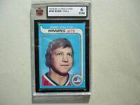 1979/80 O-PEE-CHEE NHL HOCKEY CARD #185 BOBBY HULL KSA 6 EX/NM SHARP!! 79/80 OPC