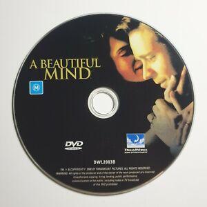 A Beautiful Mind | DVD Movie | Russell Crowe | Drama/Romance | *Unoriginal Case*