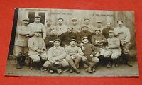CPA photo groupe de poilus Soldats première guerre mondiale
