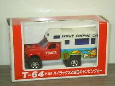 Toyota Hilux Family Camping Car - Diapet T-64 Japan 1:40 in Box *41459