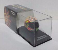 MINICHAMPS VALENTINO ROSSI AGV CASQUE HELMET 1/8 GP MISANO 2012 MOTOGP 398120096