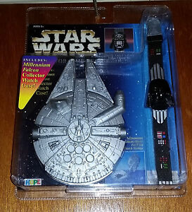 Star Wars Darth Vader Collector Watch with Millennium Falcon Case