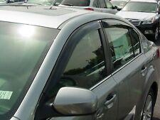 Tape-On Wind Deflectors: 2010-2012 Subaru Legacy