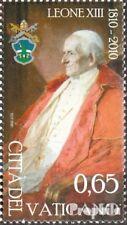 Vatikanstadt 1673 (compleet Kwestie) gestempeld 2010 Verjaardag Paus Leo XIII