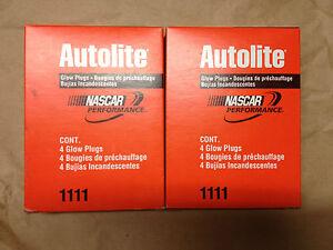 Autolite 1111, Glow Plug, Ford Diesel, 7.3L, 1995-2003, Set of 8
