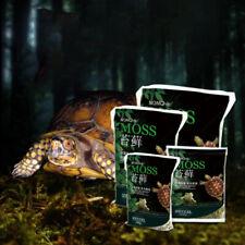 250g Natural Terrarium Moss Reptile Turtle Moss Substrate Habitat DecorationE3R