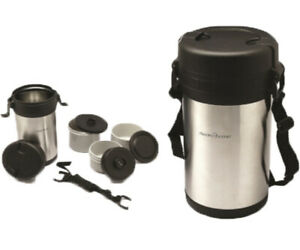 1.5L VACUUM FOOD CONTAINER FLASK STORAGE HOT INSULATED SOUP DRINK TRAVEL HANDLE